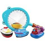 子供用バス水教育玩具海洋動物玩具セット#1