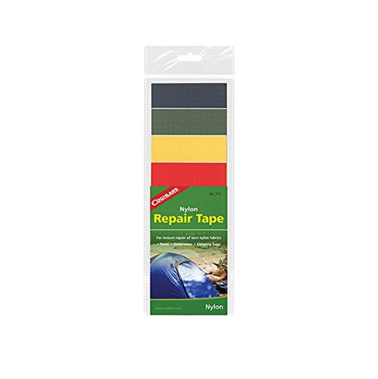 トラクター理想的には指令COGHLANS(コフラン) ナイロンリペアテープ(4色セット) 補修テープ