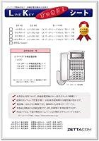 LKすっきりシート(NTT αGX1型用 100台分)LS-NT02-100