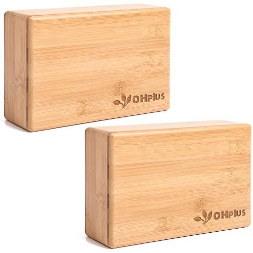 OHplus(オーエイチプラス) ヨガブロック 木製 [バンブー ブロック]