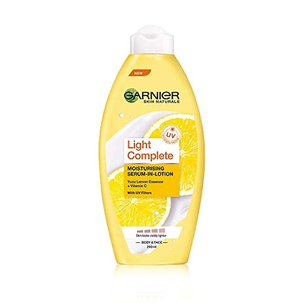 キャプション増加する貝殻Garnier Skin Naturals Light Lotion, 250ml