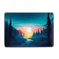 MacBookケース 自然にインスパイアされた風景 保護用 丈夫なカバー ノートパソコン用 ハードケース Air 13 2018 (A1932) マルチカラー AND