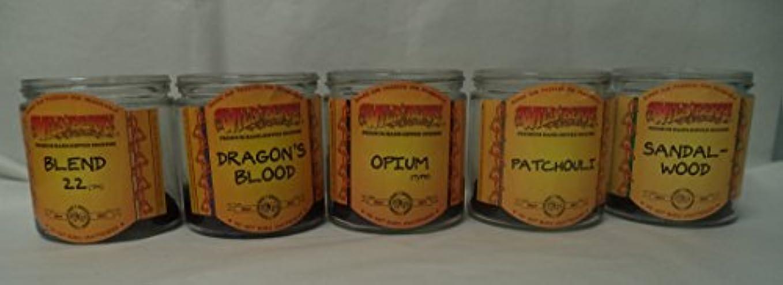 預言者そうでなければ疎外Wildberry Incense円錐Best Sellerセット# 2 : 20 Sticks各5の香り、合計100 Cones 。