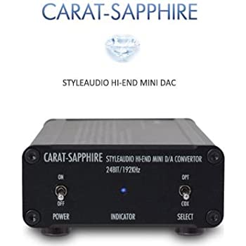 Styleaudio ヘッドホンアンプ・DAC CARAT-SAPPHIRE