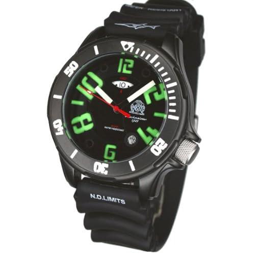 [トーチマイスター1937]Tauchmeister1937 腕時計 ドイツ製 ドイツ海軍ダイバーズ深海200M防水GMT 3Dダイヤル T0239(並行輸入品)