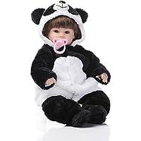 リボーンベビードール 抱き人形 シリコーン ビニール 55cm バービー 着せ替え人形 ままごと 子供玩具 可愛い ベビーケア シリコン 誕生日 プレゼント Hillrong