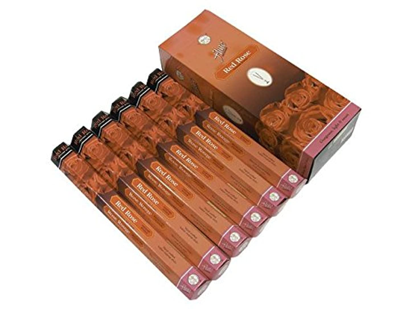 スーパー修羅場葉っぱFLUTE(フルート) レッドローズ香 スティック RED ROSE 6箱セット