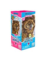JiffPom's Cutelife 子犬パズル マニア ポメラニアン 犬 ジグソーパズル   高品質サファリパズル 子供用   100ピース   14インチ x 14インチ