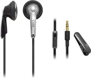 audio-technica イヤホン ブラック ATH-C320 BK