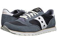 [SAUCONY(サッカニー)] メンズスニーカー・カジュアルシューズ・靴 Jazz Low Pro Navy/White 1 7.5 (25.5cm) D - Medium [並行輸入品]