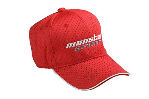 MONSTER SPORT メッシュキャップ TYPE-2 レッドZZWC20RS
