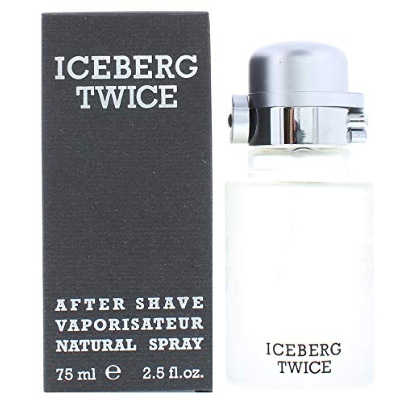 報酬老人才能Iceberg Iceberg Twiceアフターシェーブ75mlスプレーフォースプレー