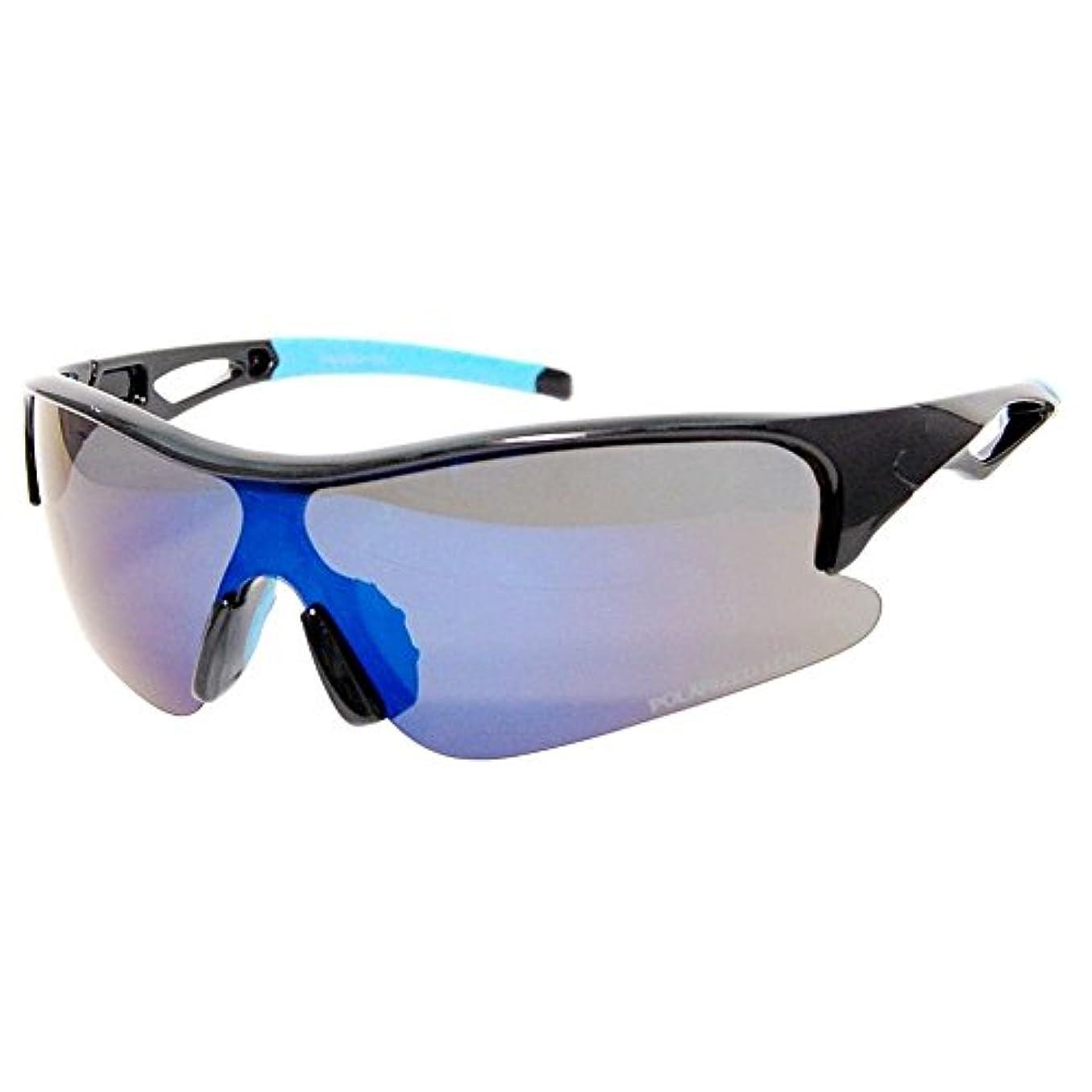 たまに魅力クスコSEAGULL(シーガル) スポーツサングラス 偏光レンズ SGB-4056-01 UV99%カット 衝撃に強いポリカーボネート製フレーム&レンズ採用 SGB-4056-01