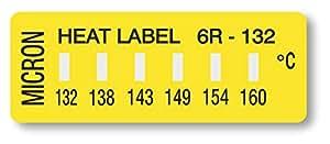 ヒートラベル 6点表示ラベル 6R-132