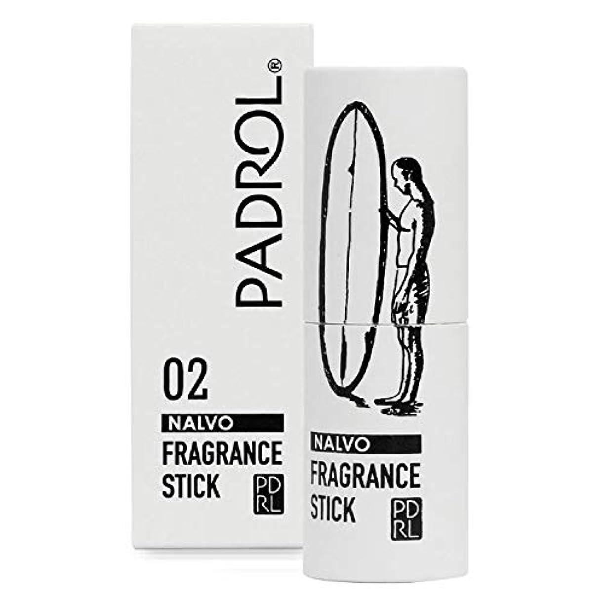 合成背の高い鋼ノルコーポレーション 練り香水 PADROL(パドロール) フレグランススティック レモンの香り PAD-3-02