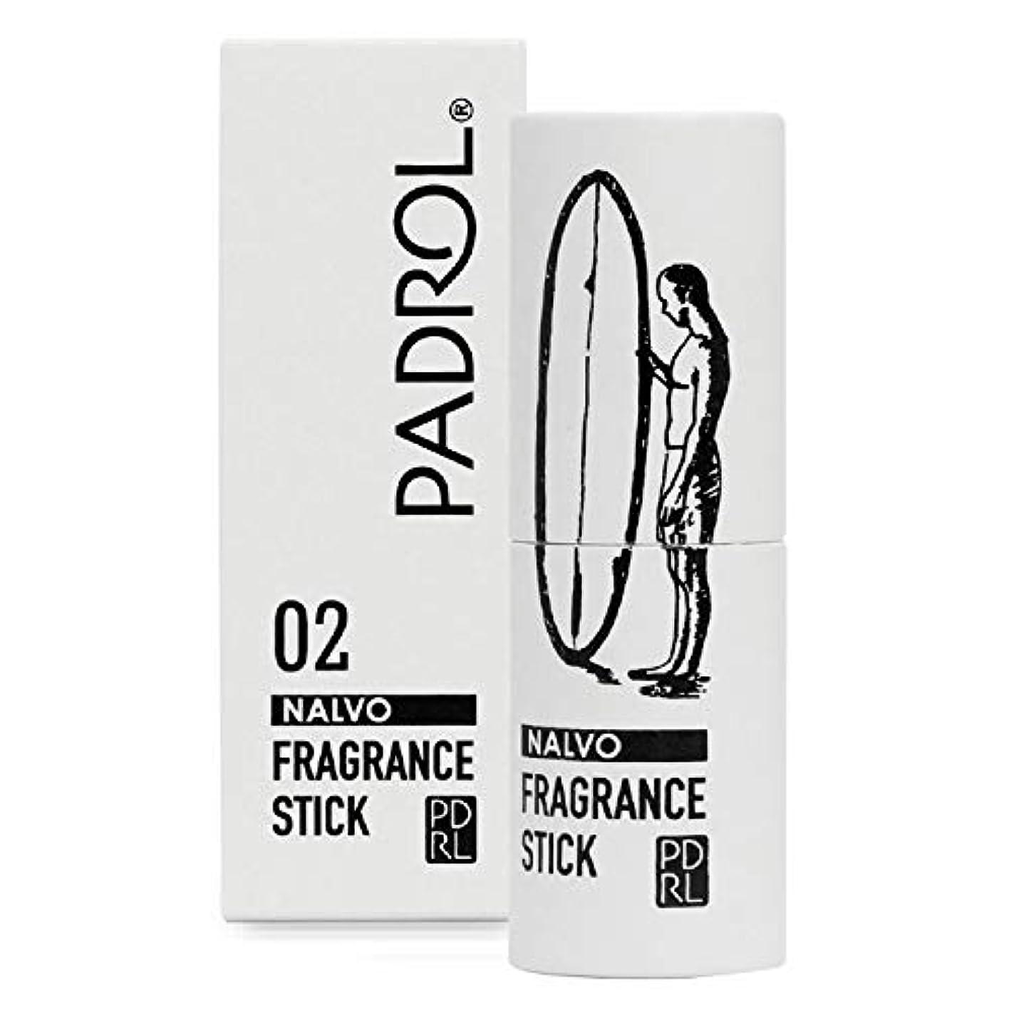 批判的に縫い目叫び声ノルコーポレーション 練り香水 PADROL(パドロール) フレグランススティック レモンの香り PAD-3-02