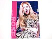 BLACK PINK/ブラックピンク ROSE ロゼA4 クリアファイル