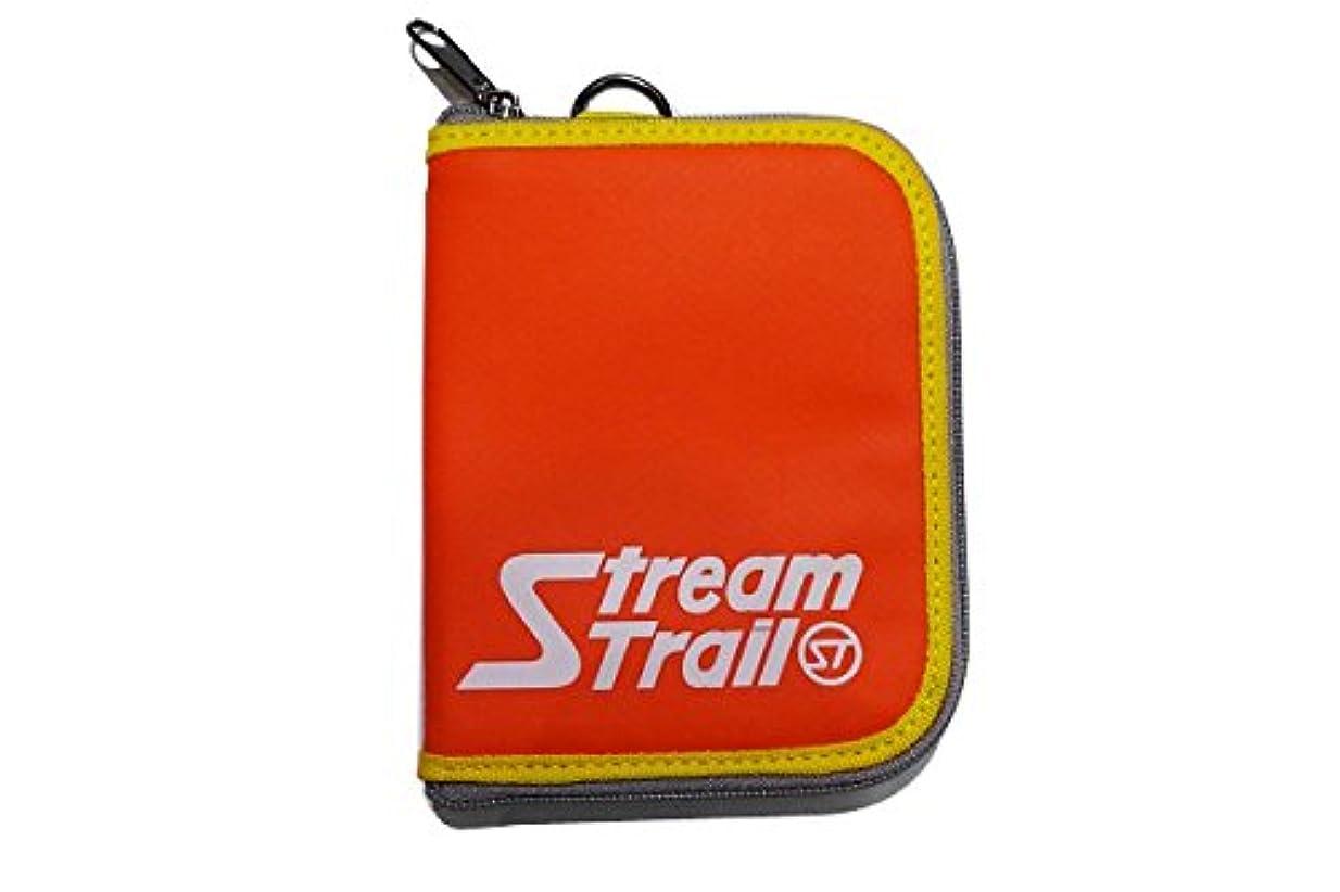 衝突確かめるポジションStream Trail(ストリームトレイル) SD ZIP WALLET/SD ZIPウォレット FIRE W110 x H140 x D20mm