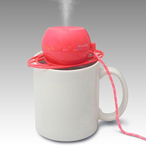 トップランド(TOPLAND) ボトル加湿器 ピンク オーブ M7012P
