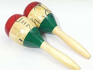 GONKISS マラカス タヒチ Maracas 木製 楽器 #GN155196