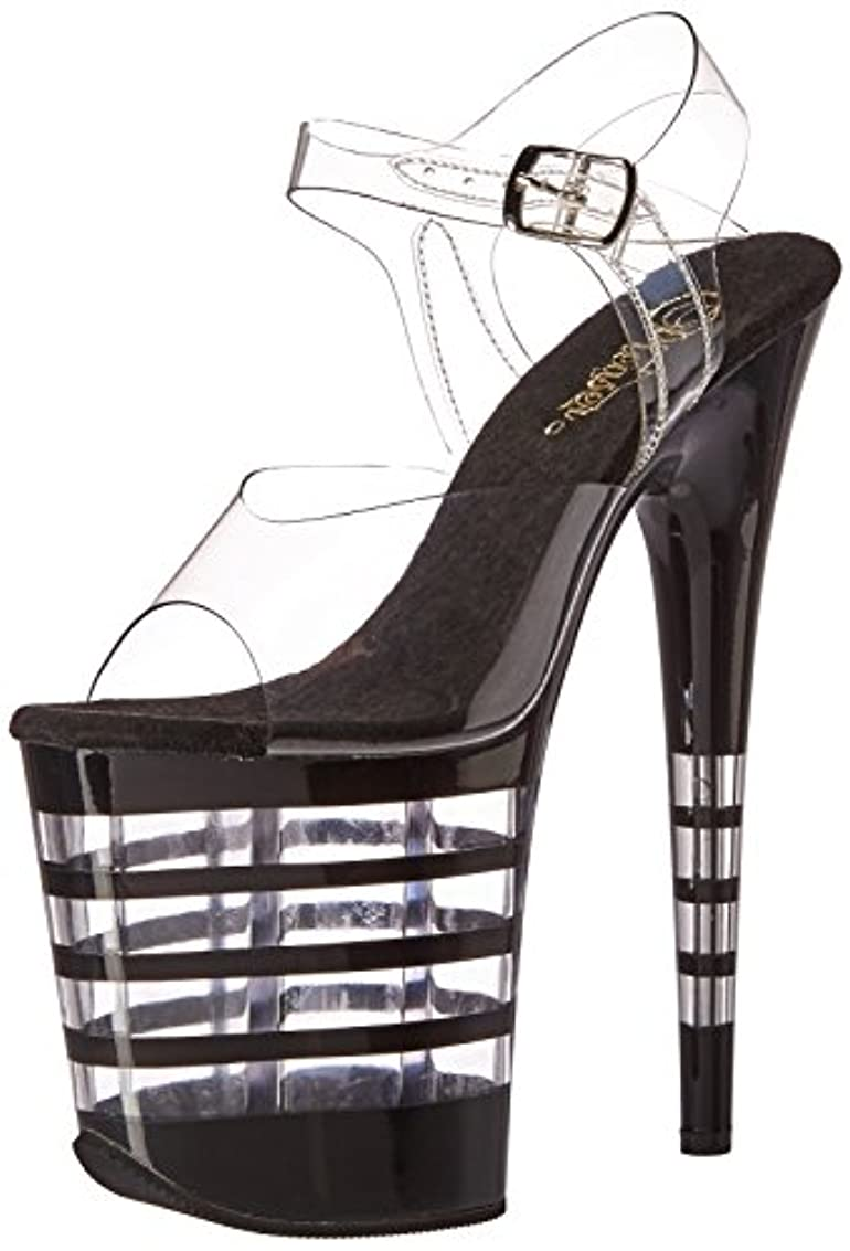 ポジションスポーツの試合を担当している人気まぐれな[プリーザー] 【即納】 Lined Platform Ankle Strap Sandal コスチュームアクセサリー コスチュームシューズ?ブーツ等 [サイズ:5(21~22cm)]