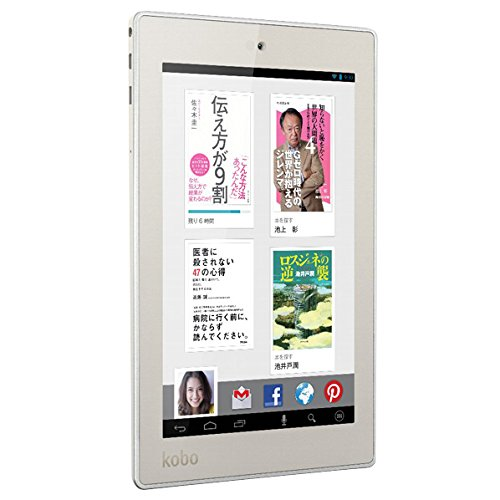Kobo Android 4.2.2搭載タブレット Kobo Arc 7HD 16GB ホワイト T416-KJ-WH-S-LC16