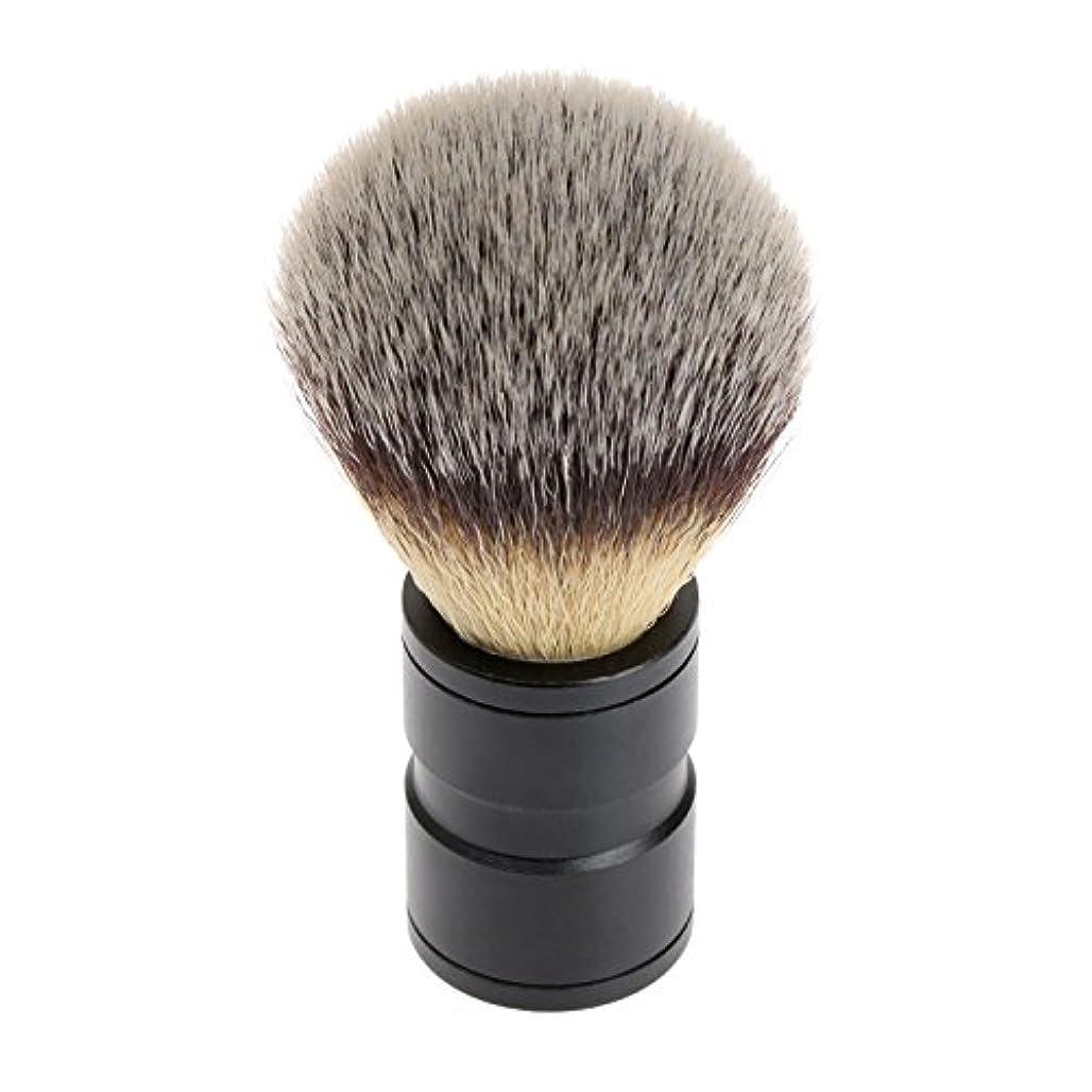 旅行代理店獲物近くシェービング ブラシ 理容 洗顔 髭剃り マッサージ 効果 ナイロン毛 メンズ