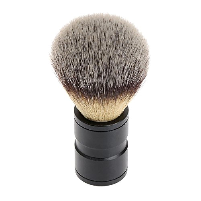 生息地刃不良品シェービング ブラシ 理容 洗顔 髭剃り マッサージ 効果 ナイロン毛 メンズ