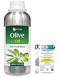Olive (Olea europea) Natural Pure Undiluted Uncut Carrier Oil 1000ml/33.8 fl.oz.