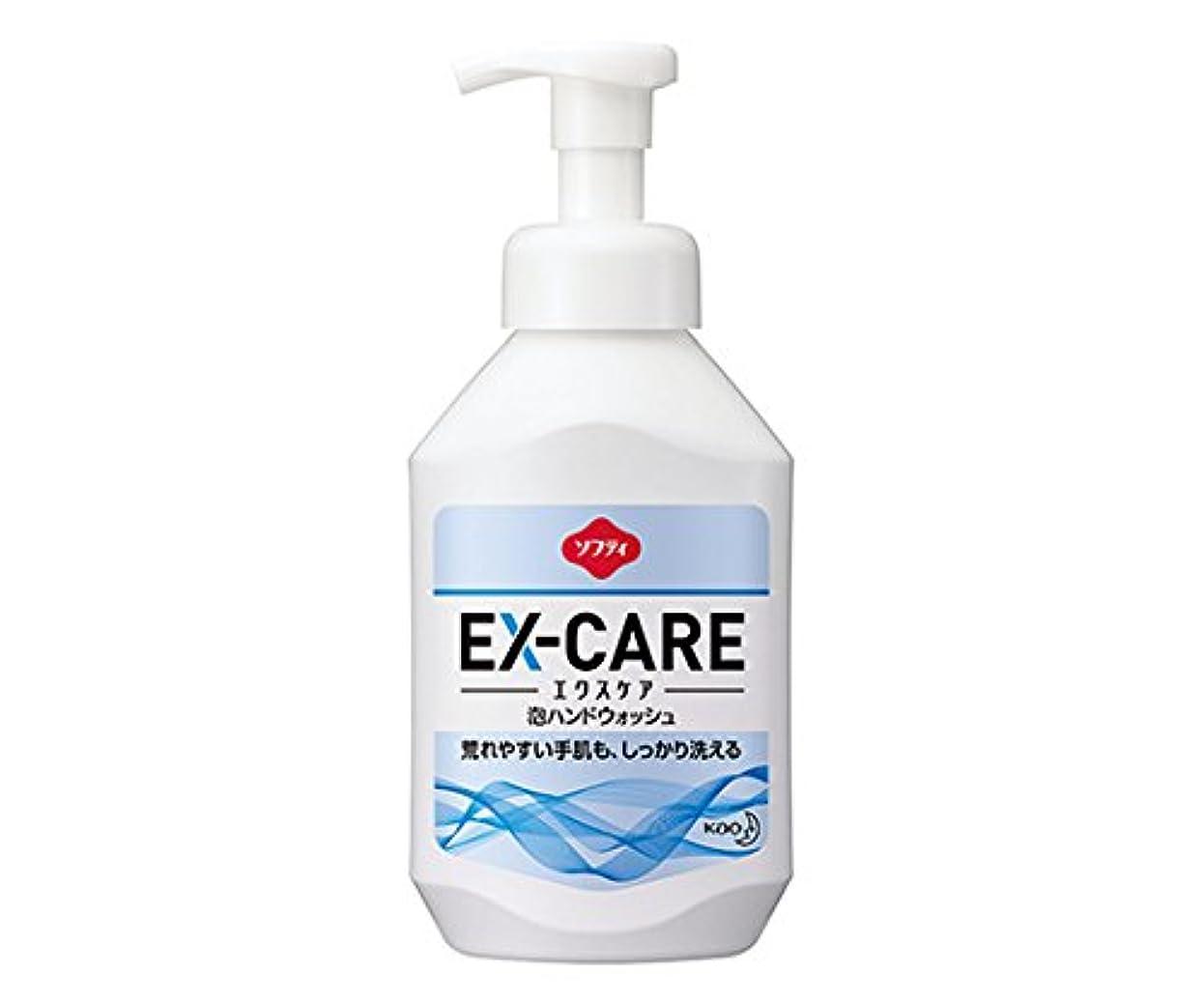 自我本会議喉頭8-9768-11ソフティEX‐CARE(エクスケア)泡ハンドウォッシュ500mL業務用