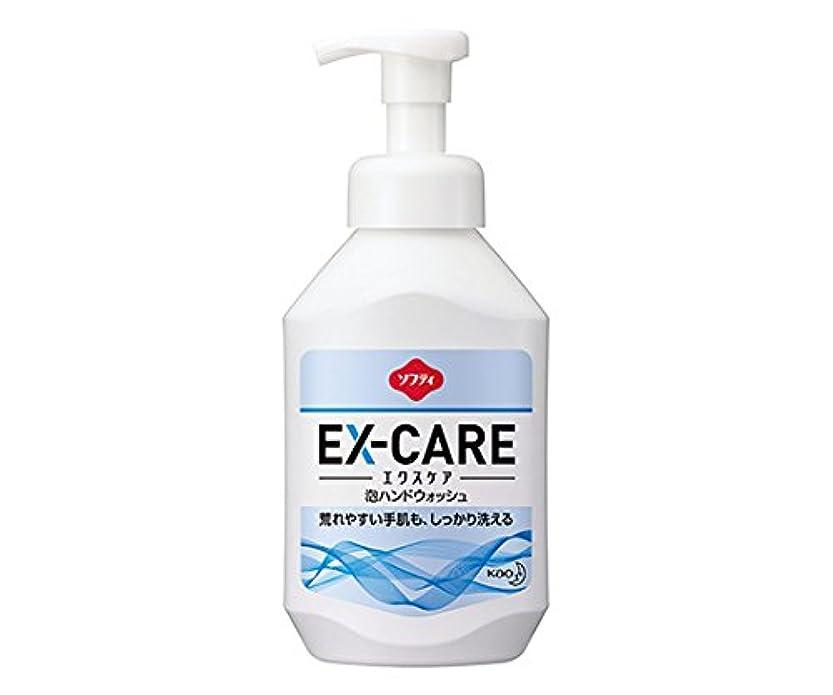 沼地うまれた外出8-9768-11ソフティEX‐CARE(エクスケア)泡ハンドウォッシュ500mL業務用