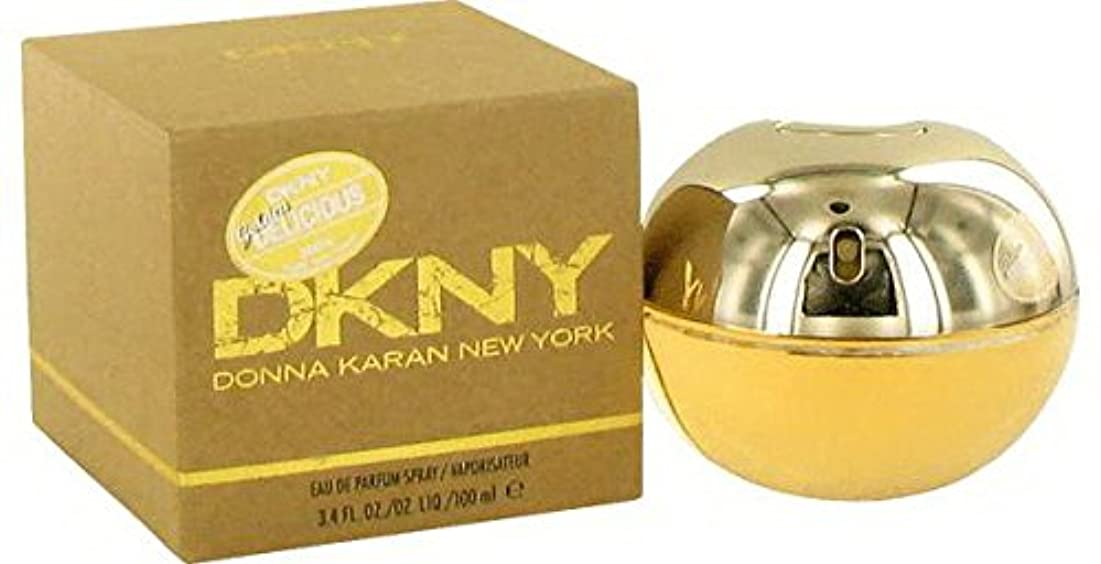 適度にスピーチ矢Donna Karan Golden Deliciousの女性3.4 Oz , 100 ml