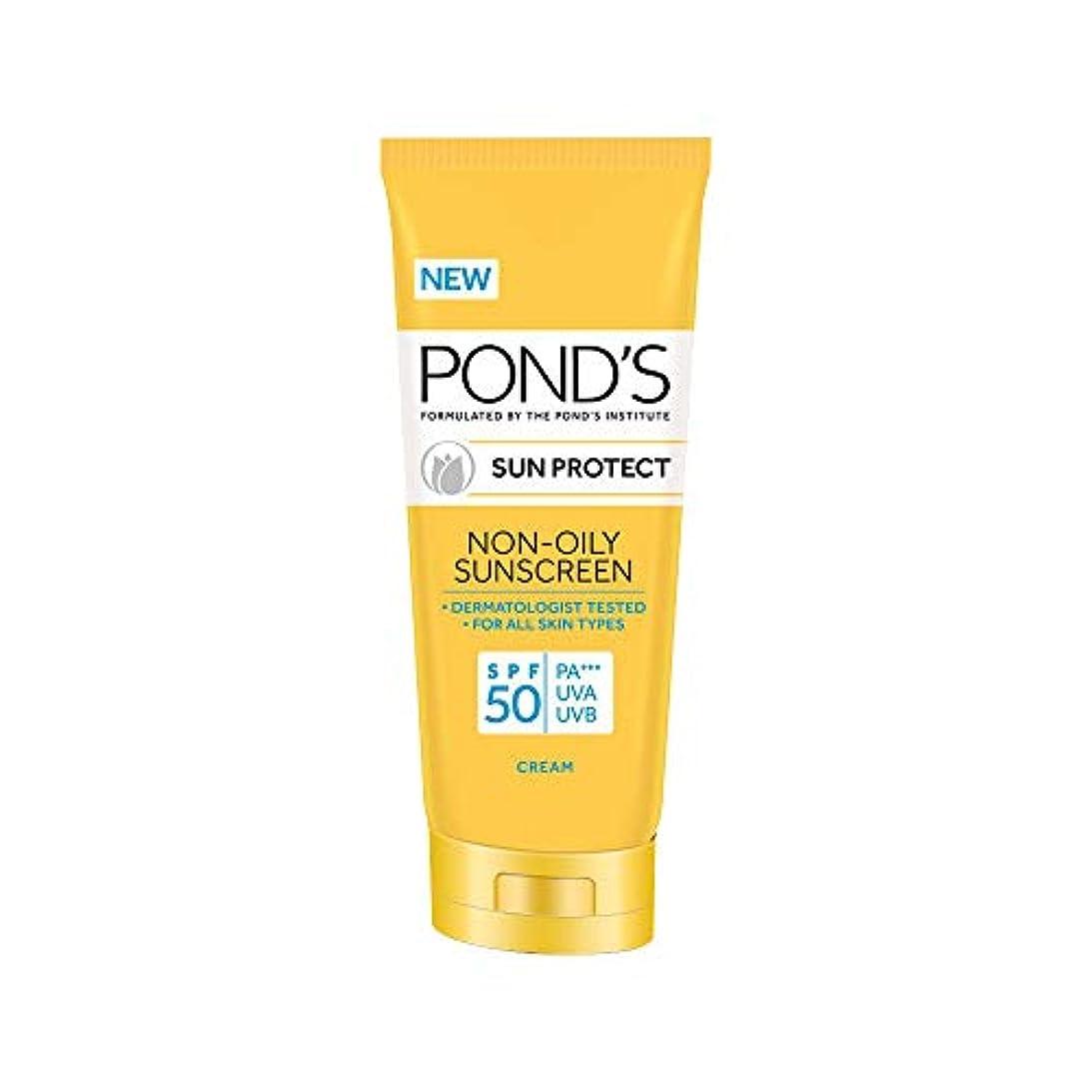 差別する健康クリームPOND'S SPF 50 Sun Protect Non-Oily Sunscreen, 35 g