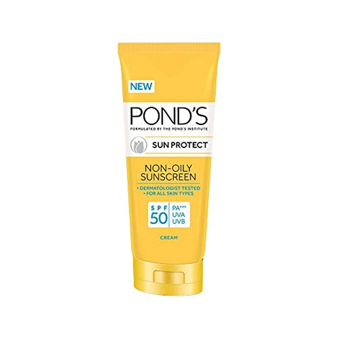 軽蔑存在貯水池POND'S SPF 50 Sun Protect Non-Oily Sunscreen, 35 g