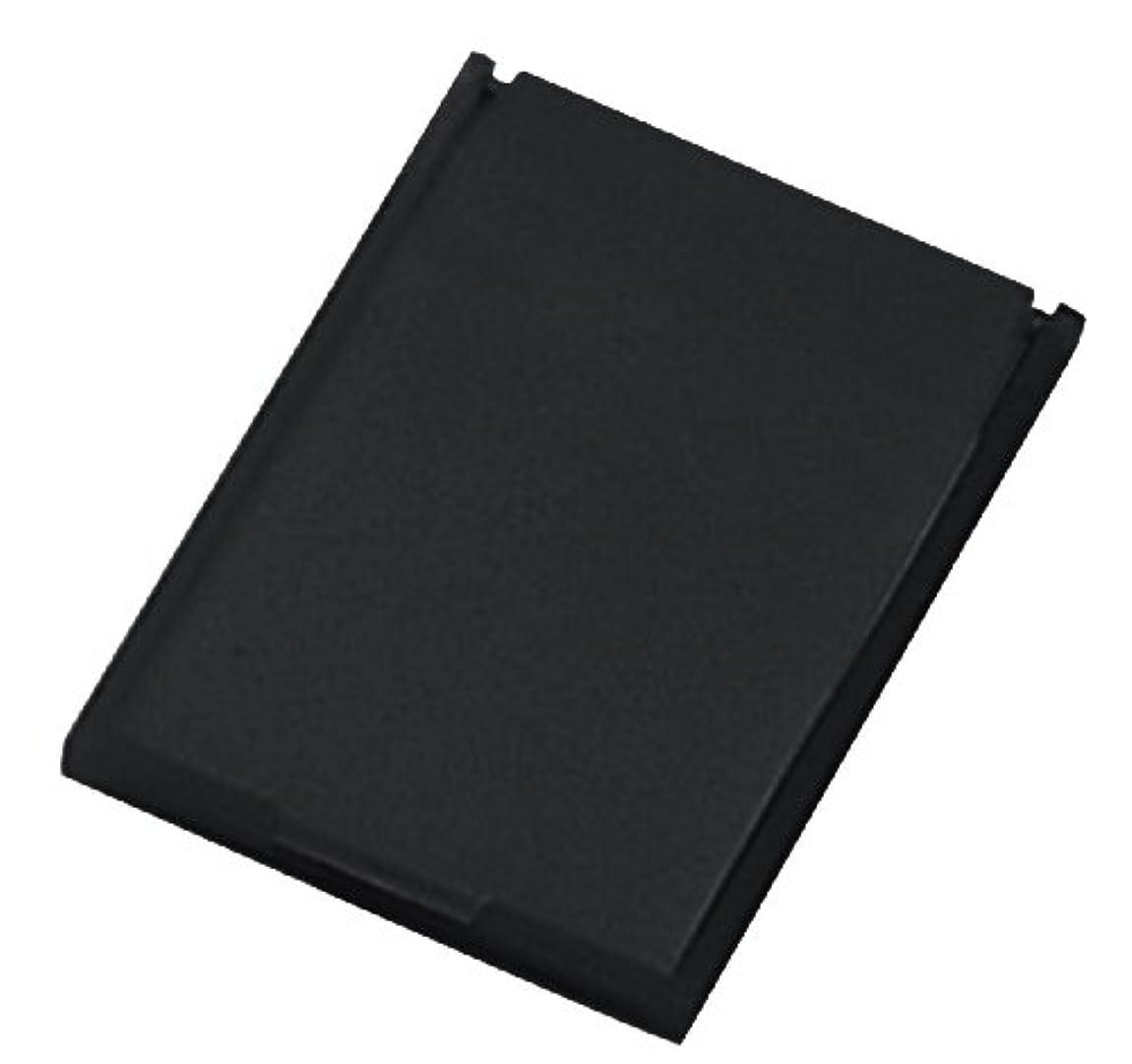 ミニコンパクトミラー 39×49㎜ ブラック YK-150