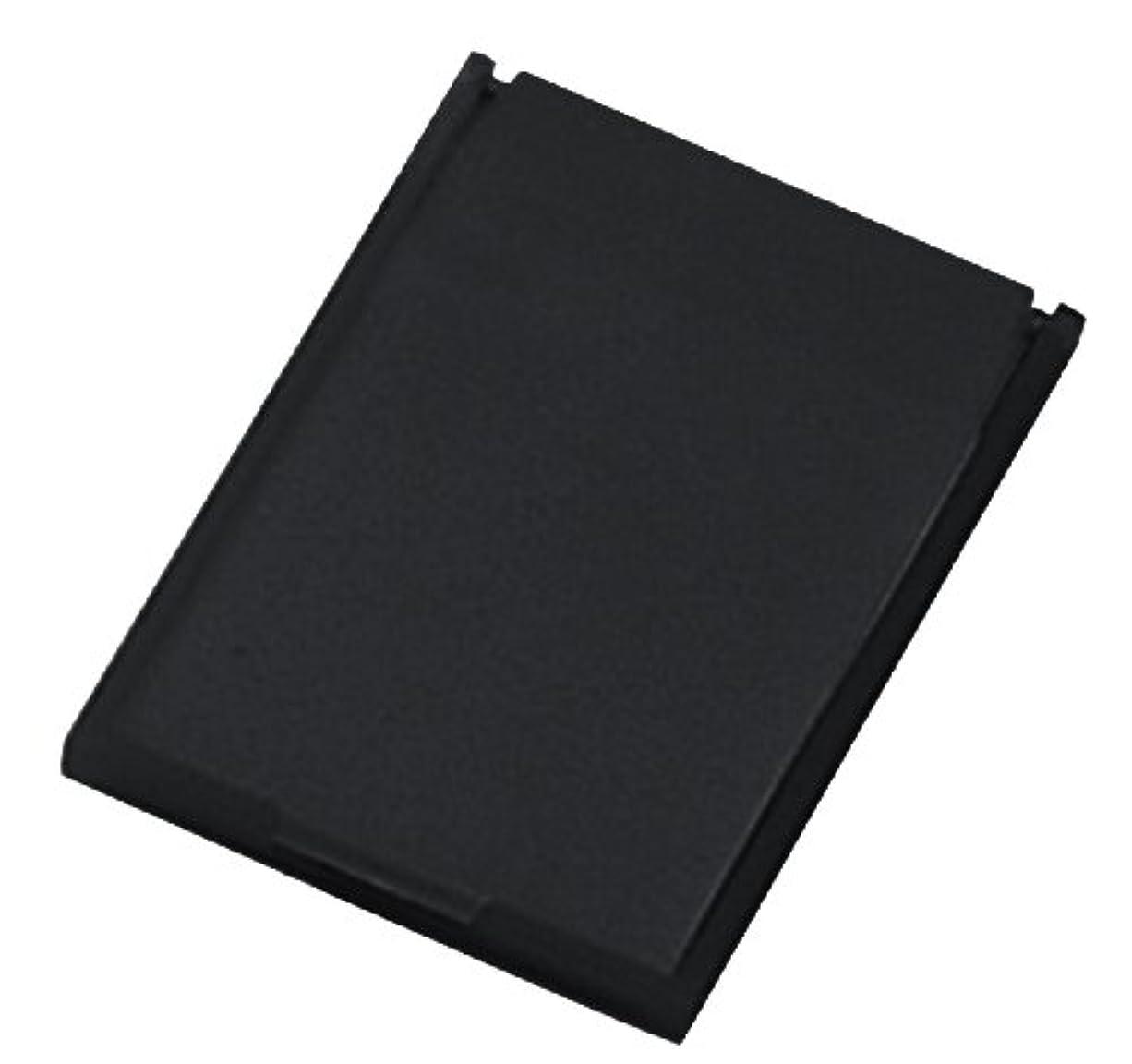 保証する占める実現可能ミニコンパクトミラー 39×49㎜ ブラック YK-150