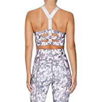 Rockwear Activewear Women's Nude Glow Li Print Crop Top Nude Glow 6 From size 4-18 Bras For