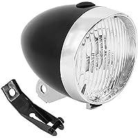 bennyue 自転車 レトロ デザイン ライト 砲弾型 LED 電池式 簡単 取付 配線 不要 明るい 安全