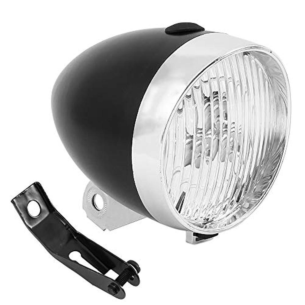 判決合理化なぜbennyue 自転車 レトロ デザイン ライト 砲弾型 LED 電池式 簡単 取付 配線 不要 明るい 安全