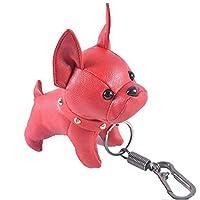 Men club ジュエリーアクセサリーフレンチブルドッグキーホルダーPu子犬バッグペンダント車の装飾品クリエイティブで便利