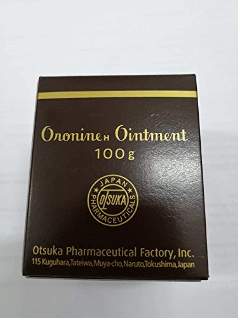 トーンストレンジャー中央Otsuka Oronine オロニンh軟膏(スキンクレンザー&モイスチャライザー) - 大3.5オンス