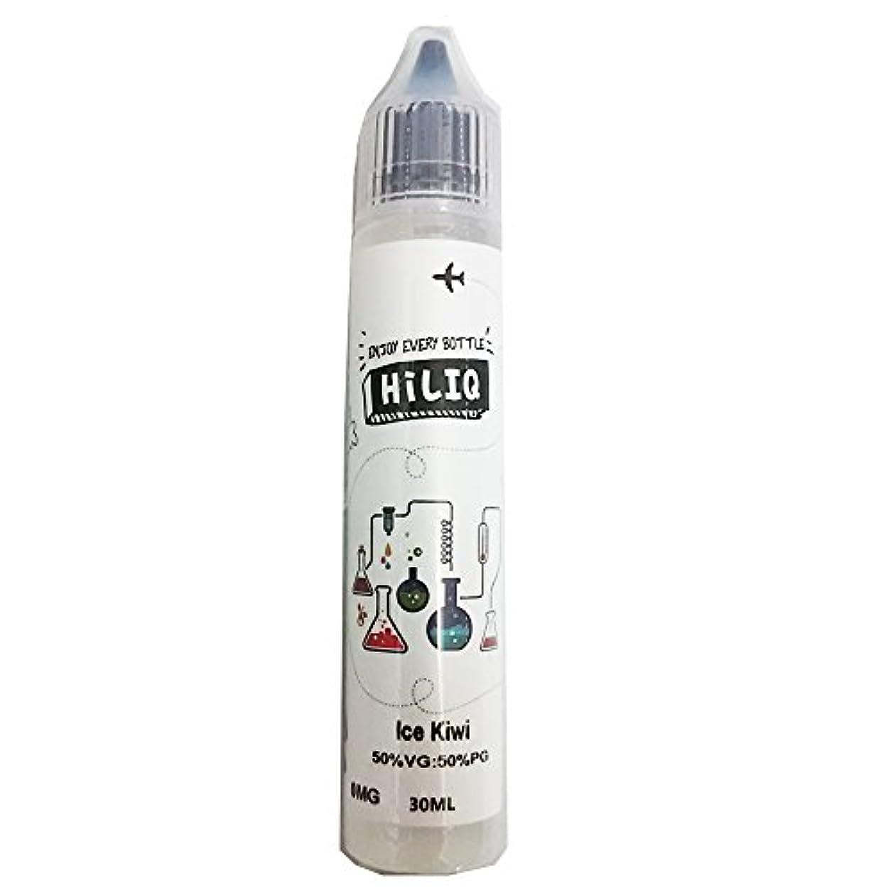 伝える多くの危険がある状況注ぎます電子タバコ リキッド HiLIQ(ハイリク) 30ml アイスキウイ Ice Kiwi