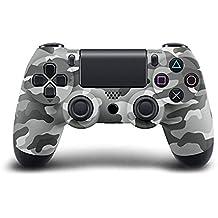 Liebeye ワイヤレスコントローラー  ブルートゥース無線 PS4 コントローラ PS4 のため 灰色の迷彩