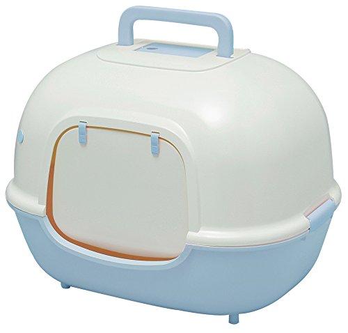 アイリスオーヤマ 脱臭ワイド猫トイレ WNT-510 ミルキーブルー