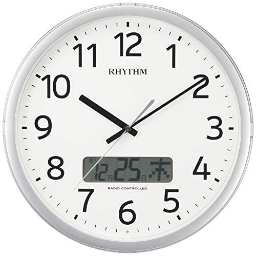 プログラムカレンダー01SR [電波 掛け 時計] 4FNA01SR19 1個