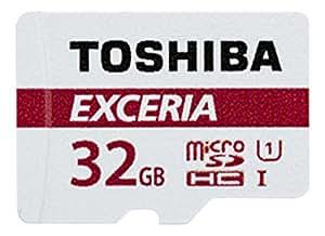 東芝 EXCERIA microSDHC32GB Class10 UHS-1対応 最大読込速度48MB/s 防水/耐X線 海外パッケージ品 THN-M301R0320A4