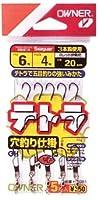 OWNER(オーナー) 仕掛け テトラ穴釣仕掛 3本 テトラ伊勢尼 7-5号 5号 20cm B-3081