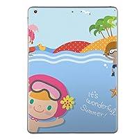 第2世代 第3世代 第4世代 iPad 共通 スキンシール apple アップル アイパッド A1395 A1396 A1397 A1416 A1430 A1403 A1458 A1459 A1460 タブレット tablet シール ステッカー ケース 保護シール 背面 人気 単品 おしゃれ ユニーク 海 キャラクター イラスト 006291