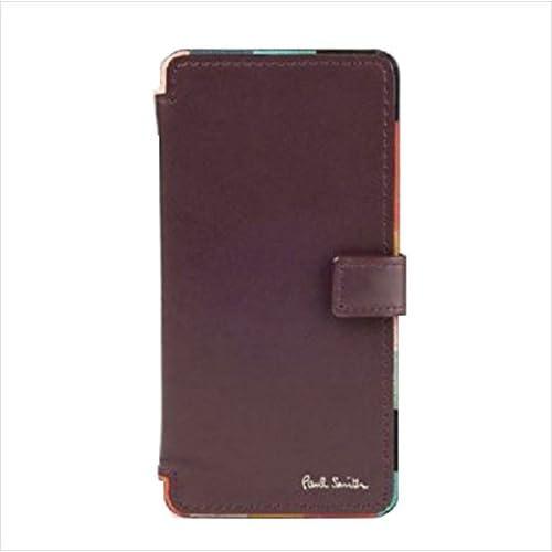 ポールスミス Paul Smith メンズ 財布 長財布 アーティスト ストライプ iPhone 6 6s 7 CASE バーガンディー