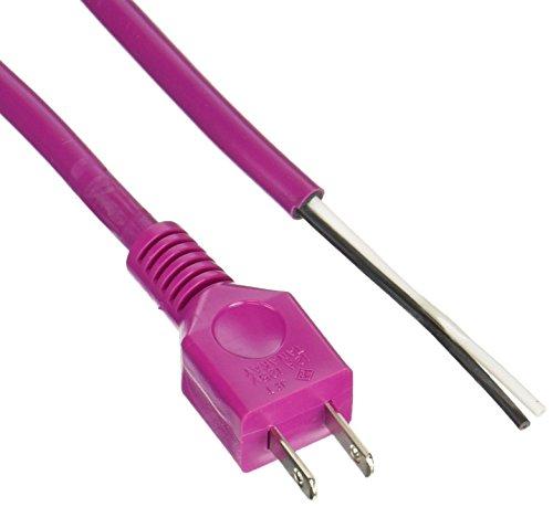 フジマック 電動工具用電源コードの替えコード5m レッド 1S2-5-R...